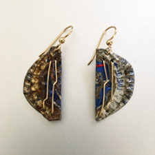 Global Trashformation Earrings # 1715