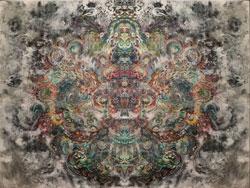 Cosmos 1,  SusieQ  digital manipulation, painting
